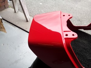 Example of paintwork